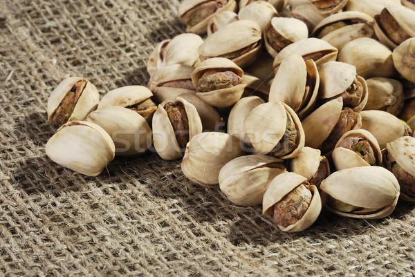 Pistache noix écrou alimentaire santé Photo stock © hanusst