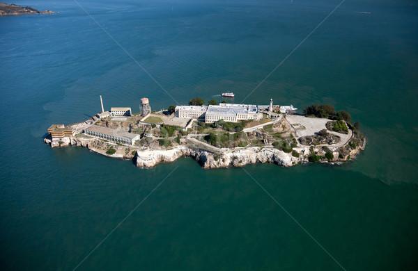Alcatraz jail in San Francisco Stock photo © hanusst