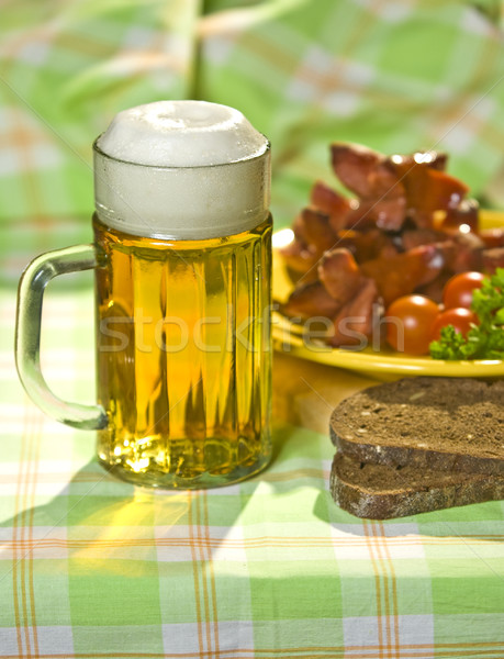 Stock photo: The mug of beer