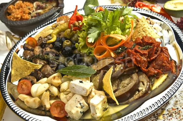 Mexican salad Stock photo © hanusst