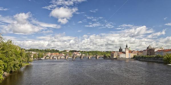 Stock photo: Prague Charles bridge