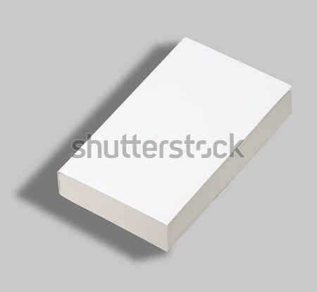 Blank paperback book cover w clipping path Stock photo © hanusst