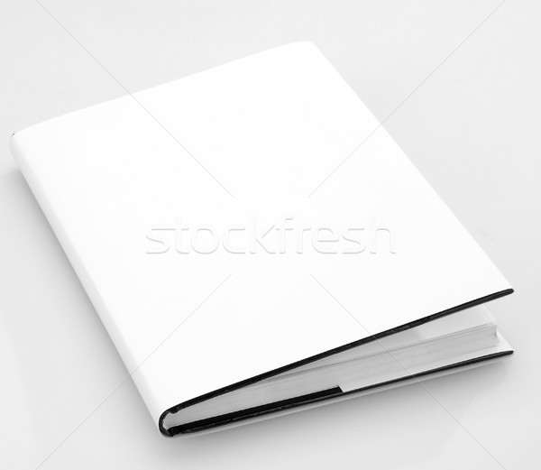 Stock photo: Blank book cover