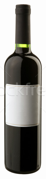 Garrafa vinho tinto festa jantar preto uva Foto stock © hanusst