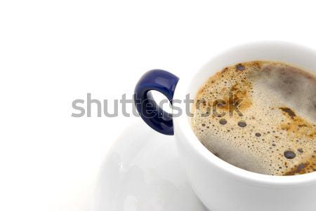 Tasse tasse de café café alimentaire fond restaurant Photo stock © hanusst