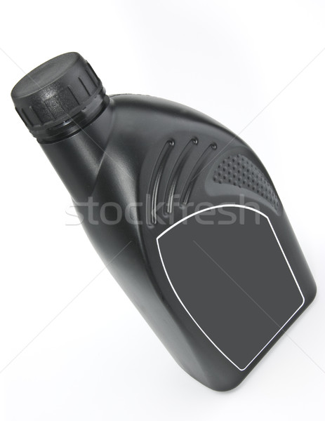 üveg motorolaj fekete műanyag víz autó Stock fotó © hanusst