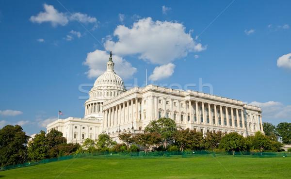 Stany Zjednoczone Capitol budynku Washington DC strony podróży architektury Zdjęcia stock © hanusst