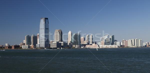 Jersey City panorama Stock photo © hanusst