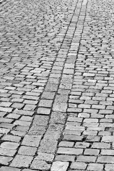 Old cobblestone street in Prague Stock photo © hanusst