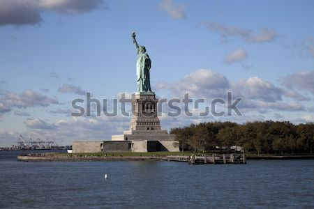 The Statue of Liberty Stock photo © hanusst