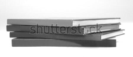 4 白 オフィス 紙 図書 ストックフォト © hanusst