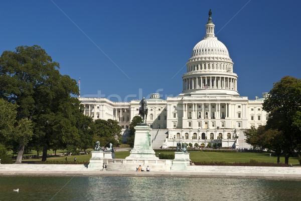 Washington DC partij gebouw reizen architectuur macht Stockfoto © hanusst