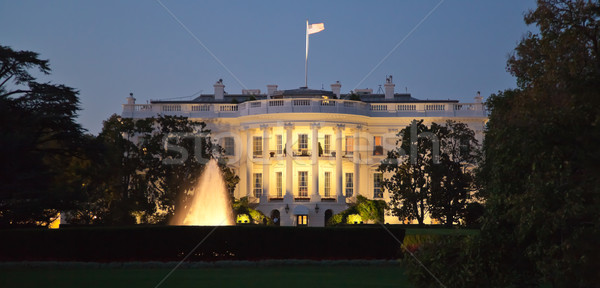 The White House at the night Stock photo © hanusst