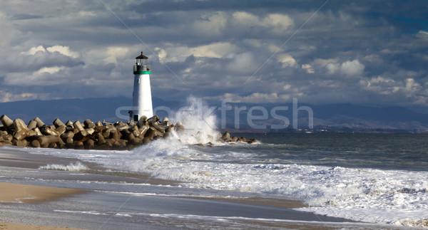 Santa Cruz Walton Lighthouse Stock photo © hanusst