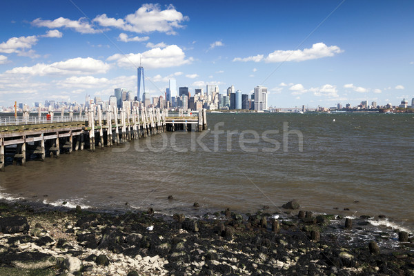 Stock photo: The New York City Downtown