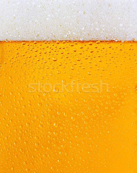 Dewy beer glass texture Stock photo © hanusst