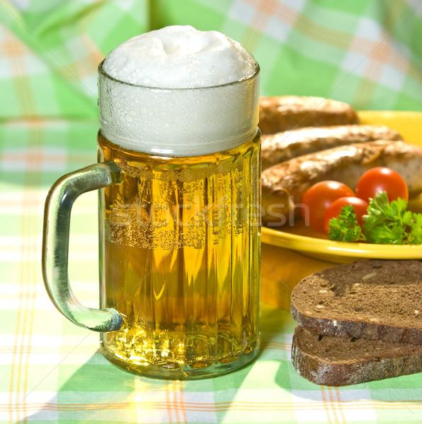 Stock photo: The mug of beer