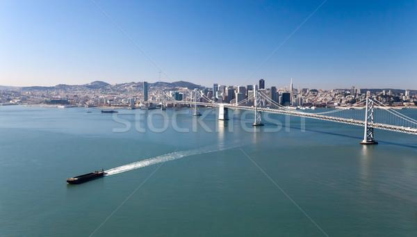 Photo stock: San · Francisco · panorama · affaires · eau · ville · rue