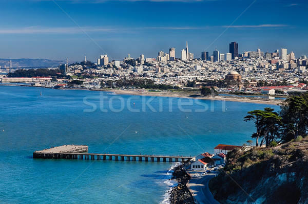San Francisco Panorama Stock photo © hanusst