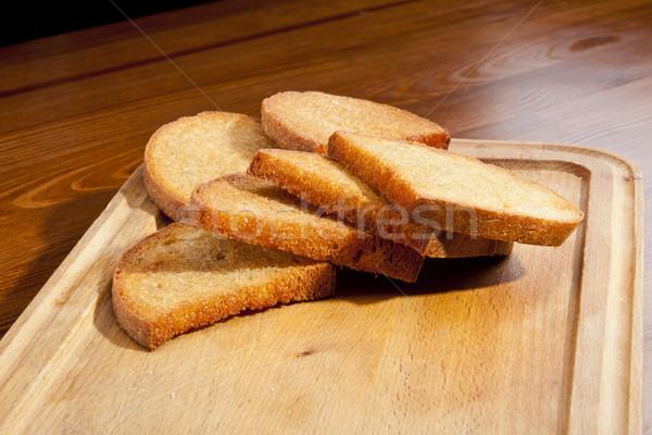 жареный тоста свежие окоп здоровья Сток-фото © hanusst