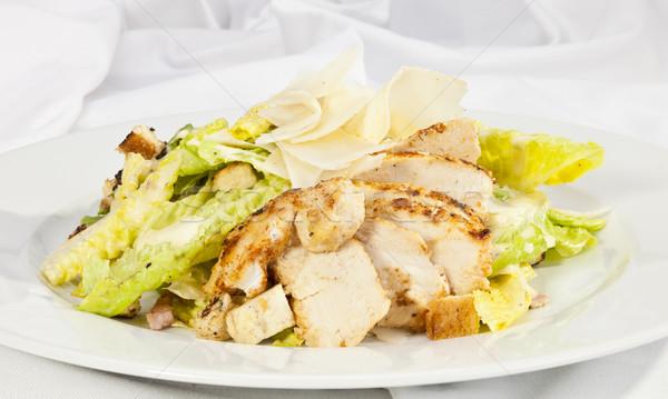 シーザーサラダ サラダ シーザー ピース 鶏 ストックフォト © hanusst
