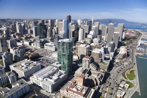 San Francisco Downtown Stock photo © hanusst