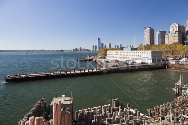Estados Unidos costa guardia edificio ciudad Nueva York Foto stock © hanusst