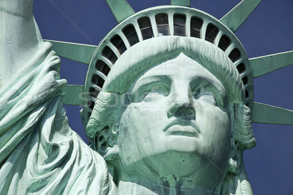 The Statue of Liberty the Detail Stock photo © hanusst