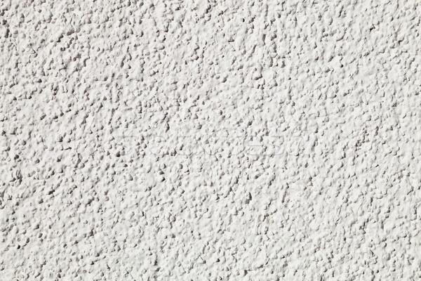 Textura gesso branco construção parede interior Foto stock © hanusst