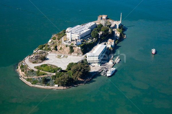 Alcatraz jail in San Francisco Stock photo © hanusst
