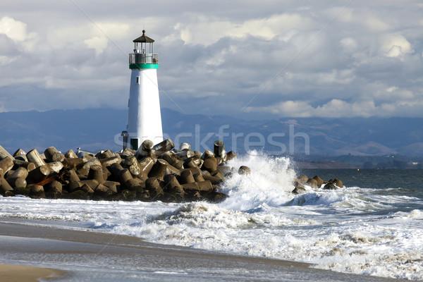 Stock photo: Santa Cruz Walton Lighthouse
