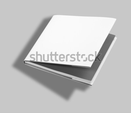 Photo stock: Livre · blanche · couvrir · bureau