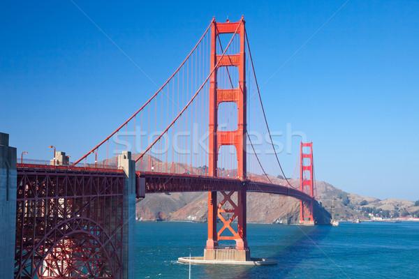 Photo stock: Golden · Gate · Bridge · San · Francisco · ciel · eau · route · ville
