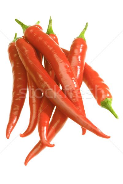 Chili paprika bos Rood gekruid voedsel Stockfoto © hanusst