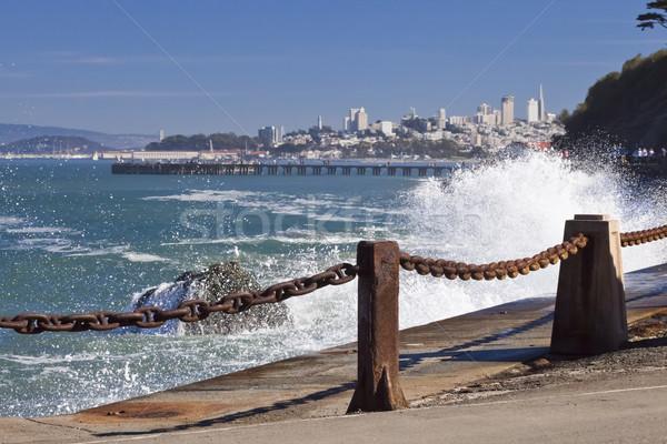 San Francisco Panorama Stock photo © hanusst