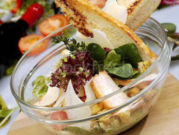 Chicken salad Stock photo © hanusst