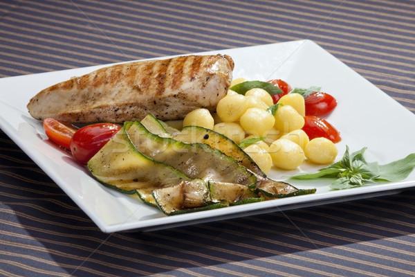 焼き鳥 乳がん 焼き 茄子 イタリア語 食品 ストックフォト © hanusst