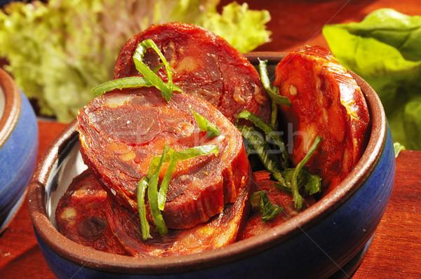 Mexican speciality Chorizo Stock photo © hanusst
