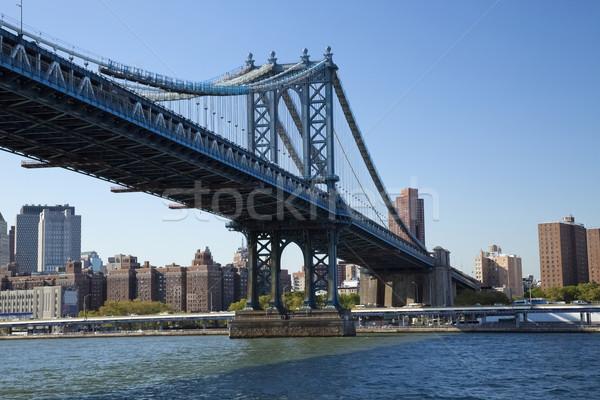 New York Manhattan Bridge Stock photo © hanusst