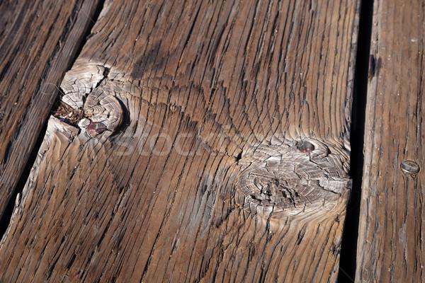 古い木材 テクスチャ ツリー 建設 壁 自然 ストックフォト © hanusst