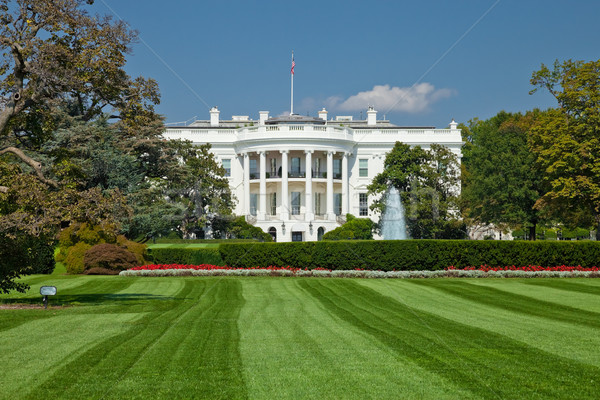 Stock photo: White House, Washington D.C.