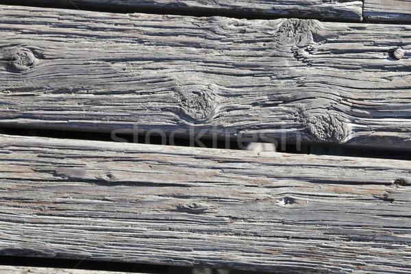 Textura de madeira madeira velha textura árvore parede natureza Foto stock © hanusst