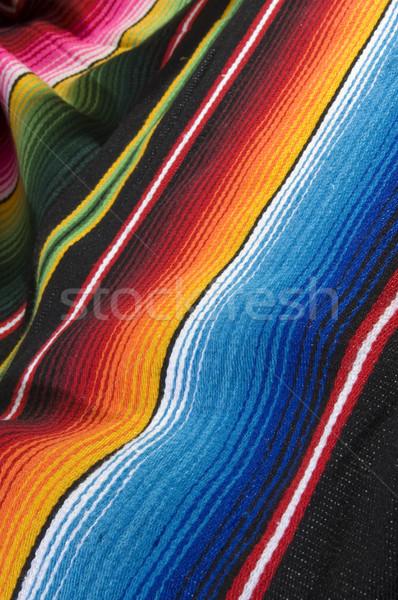 Photo stock: Coloré · mexican · texture · mode · résumé