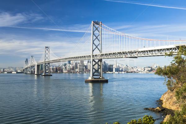 Сан-Франциско Панорама бизнеса небе воды город Сток-фото © hanusst