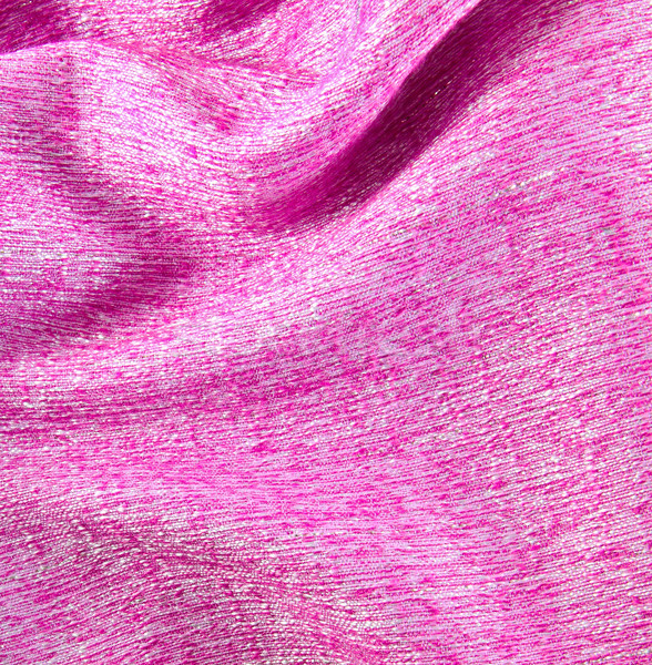 Pink crumpled silk fabric textured background  Stock photo © happydancing