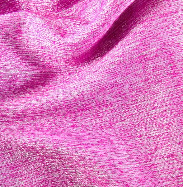 Rosa seda tejido textura moda Foto stock © happydancing