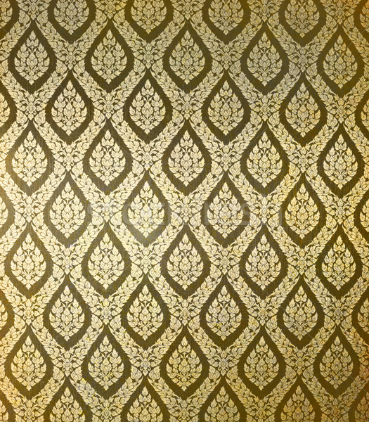 Thai art wall pattern for background Stock photo © happydancing