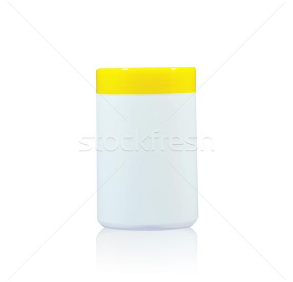 Witte gezondheid ziekenhuis fles studio Stockfoto © happydancing