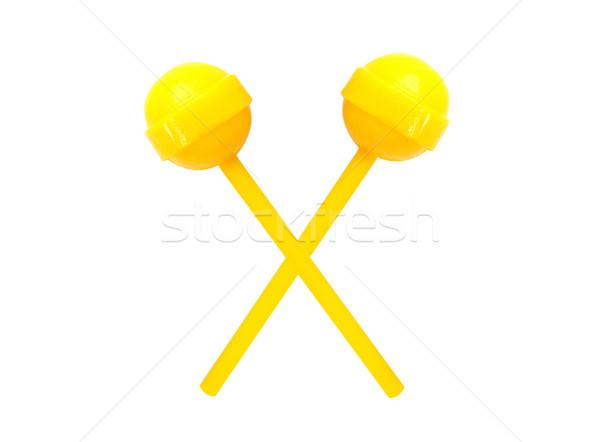 sweet lollipops isolated on white background Stock photo © happydancing