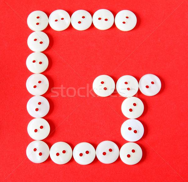 Botones rojo papel resumen diseno Foto stock © happydancing